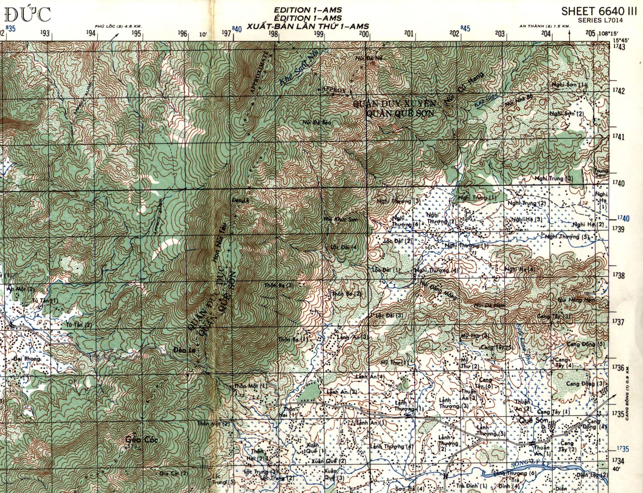 Maps Sheets Vietnam Us Military Grid Maps